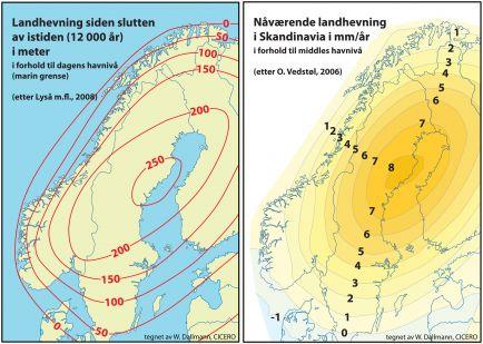 Landheving og havnivåøkning