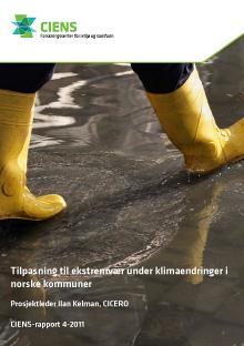 Tilpasning til ekstremvær under klimaendringer i norske kommuner