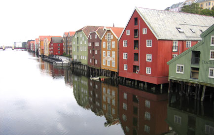 Sjøboder i Trondheim